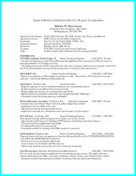 Sample Consultant Resumes Examples Resume Consulting Cover Letter