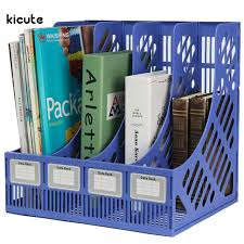 Binder Magazine Holders Multifunction Plastic Storage Hanger 100 Section Divider File Paper 82