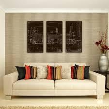 Wall Art Sets For Living Room Ptm Images Locomotive 3 Piece Graphic Art Set Wayfair