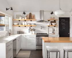 kitchens with white cabinets. Farmhouse Kitchen Inspiration - Example Of A Country L-shaped Design In Sacramento With Kitchens White Cabinets