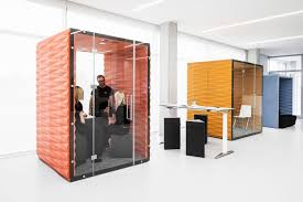 Office pods Movable Dezeen Vanks Soundproof Pods Offer Private Workspaces For Openplan Offices