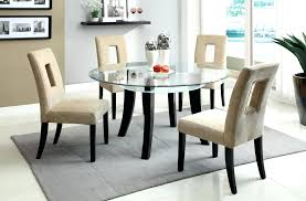 round glass dining room table furniture round glass dining table and chairs best of round dining