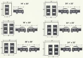 Two Car Garage Doors Sizes  WageuziSize Of A Two Car Garage