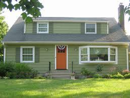 Best Green House White Trim Ideas