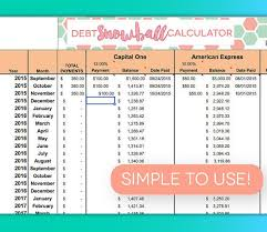 Debt Payoff Excel Debt Payoff Spreadsheet Debt Snowball Excel Credit Card Payment