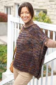Knit Poncho Pattern Interesting Looking For Easy Knit Poncho