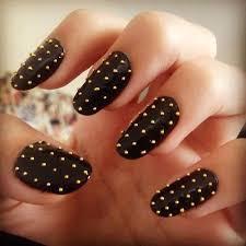 28 simple black nail designs
