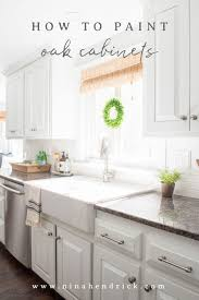 how to paint oak cabinets and hide the grain learn about our proven process for
