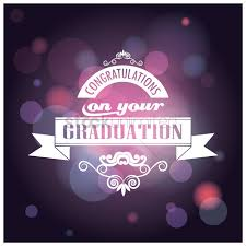 Congratulations On Your Graduation Card Vector Image 1710369