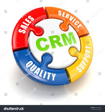 Crm Customer Relationship Marketing Concept 3d Stock Illustration ...