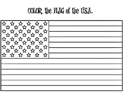 American Flag Coloring Page W Free Extension Activities 4th Of