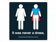 womens bathroom sign cape. It Was Never A Dress: This Is How The Female Toilet Sign SHOULD Be\u2026 Womens Bathroom Cape