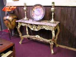 antique foyer furniture. Gold Leaf Service With Antique Stain For Foyer Furniture. \ Antique Foyer Furniture G
