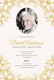 Invitation For Funeral Free Funeral Ceremony Invitation Template In Microsoft Word 8