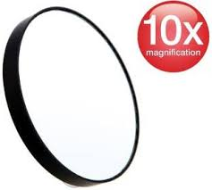 compact mirror clipart. kelley 10x magnification makeup mirror with suction cups mmg945 compact clipart