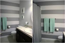 bathroom paint. bathroom with stripes paint