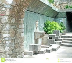 modern wall fountains large outdoor water fountain designs contemporary garden con