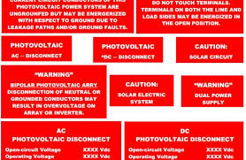 pv system wiring wiring diagram for you • solar system labels and signs civicsolar pv system wiring diagram solar pv