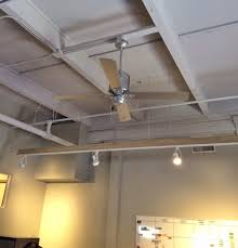 exposed conduit lighting. featured customer vintage ceiling fans cool office space with style exposed conduit lighting