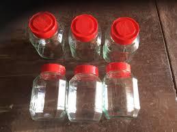 large glass storage jars mount lofty toowoomba city image 2 1 of 2