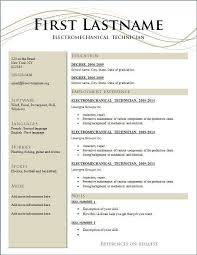 Resume Free Resume Template Downloads For Teachers