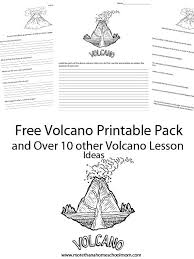 Science Fair Project Labels Printable Volcano Project And Resources Includes Free Printables And Tips