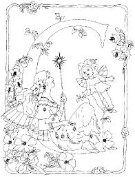 Small Picture Rainbow Magic Fairy Coloring Pages Coloring Home
