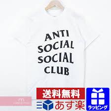 Anti Social Social Club Tee Size Chart Assc Anti Social Social Club 2019ss Shatto Tee Antisocial Social Club Front Desk Logo Print Short Sleeve T Shirt Short Sleeves Cut And Sew White Size