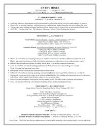 Exceptional Teaching Resume Template Templates Format Doc For