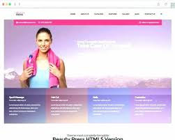 word website templates free fantastic spa beauty salon website templates free premium er