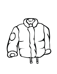 winter clothes coloring pages astonishing color coat colouring page