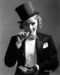 Marlene Dietrich Lighting Marlene Dietrichs Screen Fashions Designed By Travis Banton