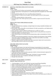 Property Manager Job Description Samples Job Description Operations Manager Sample For Retail