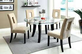 small round glass dining table large size of dining room round dining table modern modern glass