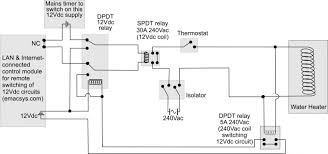controlling my office water heater electronics forums electronic symbols pdf at Heater Symbol Wiring Diagram