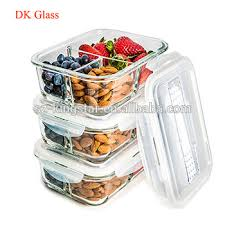Glass Food Storage Containers With Locking Lids Fascinating Glass Meal Prep Containers 32 Compartment Food Storage Container