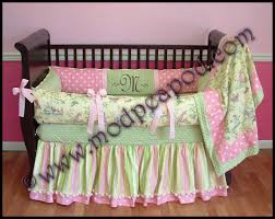 nursery rhyme toile baby bedding larger image