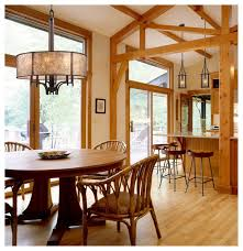 elk lighting 15034 6 barringer aged bronze 6 light chandelier rustic dining room