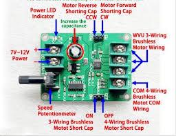 aliexpress com buy 5v 12v dc brushless motor driver board 5v 12v dc brushless motor driver board controller for hard drive motor 3 4