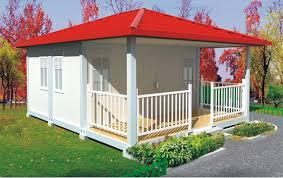 Flatpack House Prefab Flat Pack Container House With Balcony Zhejiang Putian