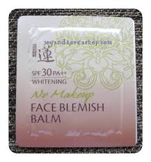 พร อมส ง welcos no makeup face blemish balm whitening spf30 pa แบบซอง ส