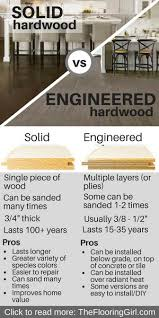 solid vs engineered hardwood which is