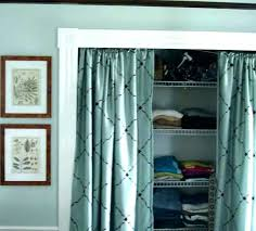 bamboo closet door bamboo closet doors feat curtains for closet doors curtain closet door ideas medium