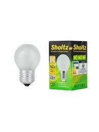 <b>Лампа галогенная SHOLTZ</b> матовая шар E27 42Вт 2800K 220В ...