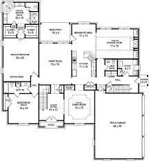 3 Bedroom Open Floor House Plans Ideas Simple Design