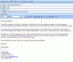email cover letter cv sample sending resume via email sample for cover  letter email sample 6609