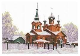 <b>Набор для вышивания Nitex</b> 0053 Церковь Святого Александра ...