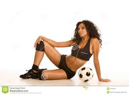 Ball kicking picture sexy woman