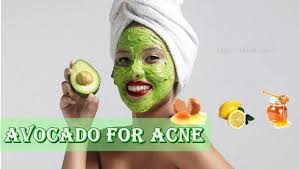 does avocado help with acne
