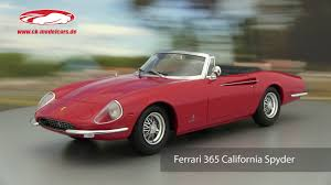 It was the continuation of a series of limited production cars which included the 410 and 400 superamercas. Kk Scale 1 18 Ferrari 365 California Spyder Year 1966 Red Kkdc180051 Model Car Kkdc180051